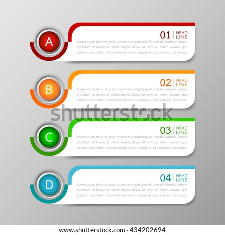 banners template design illustration vector business stock vector