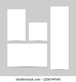 Banners vector background