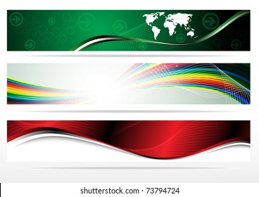 Banners for web (Vector collection). Clip-art