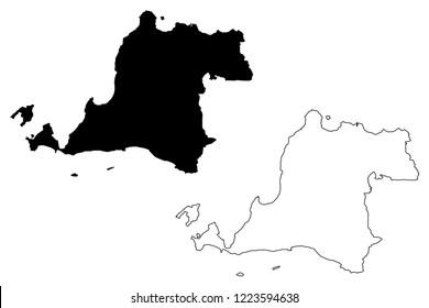 banten map images stock photos vectors shutterstock https www shutterstock com image vector banten subdivisions indonesia provinces map vector 1223594638
