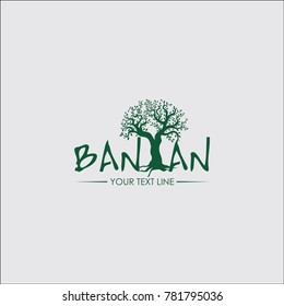 banyan logo concept for your business