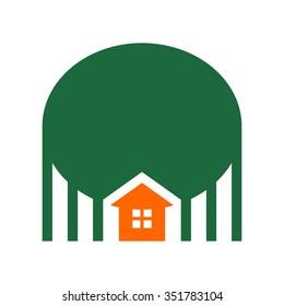 banyan tree logo vector.