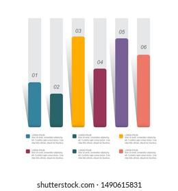 Graph Graph Graph Diagramm Statistische Infografik des Unternehmens