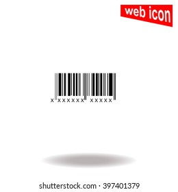 Bar code icon.