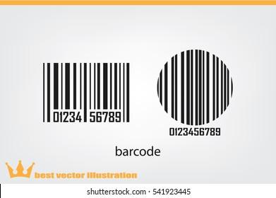 bar code, icon vector illustration eps10.