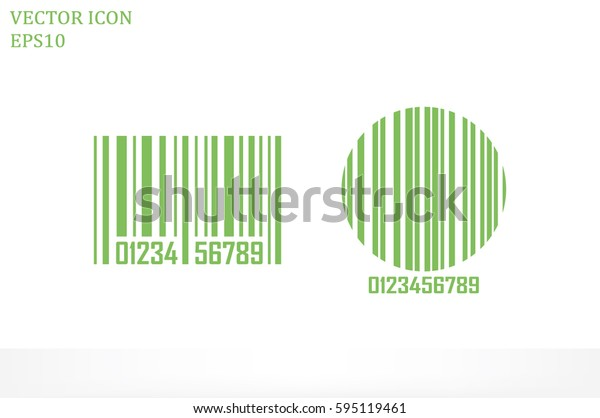 bar code, icon vector illustration.