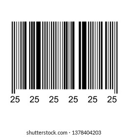 Bar code isolated on transparent background. Vector illustrator eps 10. icon.