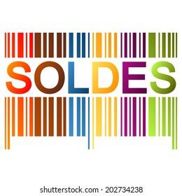 Bar code SOLDES
