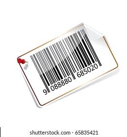 Bar code tag