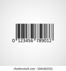 Bar code. Vector icon