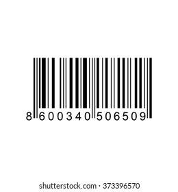 Bar code  . Vector illustration