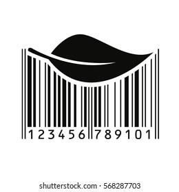 Bar code. Vector illustration.
