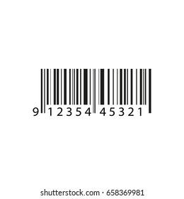Bar code . Vector illustration