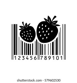 Bar code. Vector illustration. Eps 10. barcode