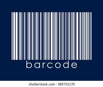 bar code vector logo icon