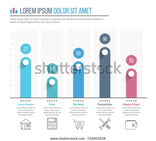 Bar Graph Template Free from image.shutterstock.com