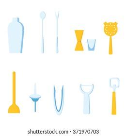 Bar Tools vector illustration