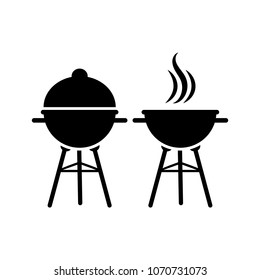 Barbecue grill vector illustration