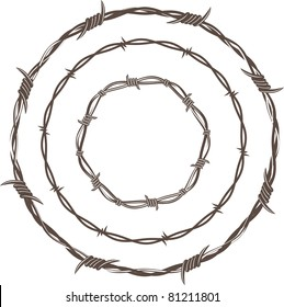 Barbed Wire Rings