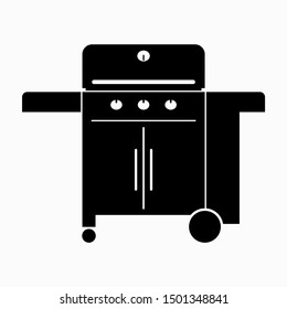 Barbeque, BBQ gas burner grill