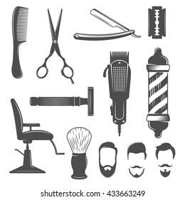 Barber Tools Images, Stock Photos & Vectors | Shutterstock