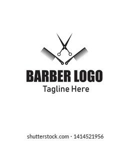 Barber Logo.Barbershop Logo Vector design - Vector