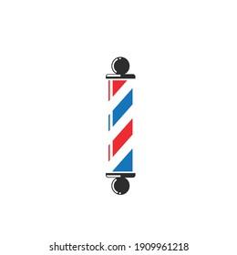 barber pole  icon  vector design template