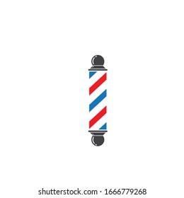 barber pole icon vector illlustration design