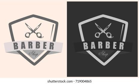 Barber shop badge