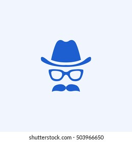 barbershop icon, isolated, white background