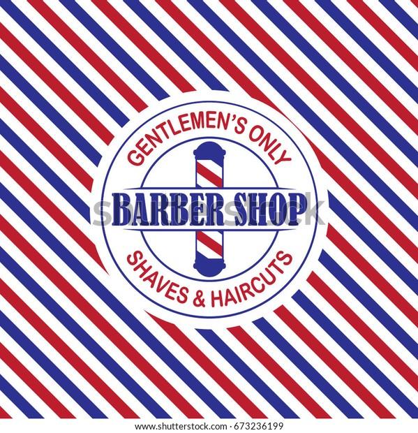 Banner Barbershop - desain spanduk kreatif