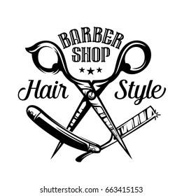 Barbershop Logo icon vintage