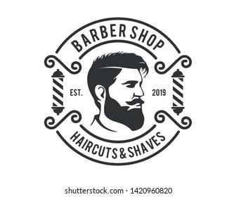 Barbershop Logo Vector design barbershop
