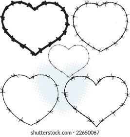Heart Arrow Frames Monograms Arrows Boho Stock Vector 1039657513 ...
