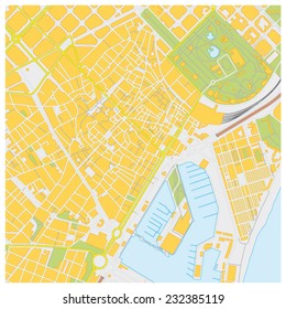 barcelona city map