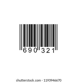 Barcode or Code Data, Information, Price and Identification Product for Inventory. Vector illustration