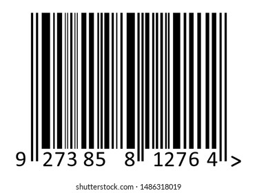Barcode  code vector illustration. symbolic bar code icon