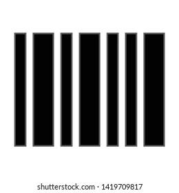 Barcode icon. flat illustration of Barcode vector icon for web