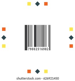 Barcode icon, Shopping symbol