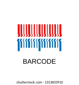 Barcode icon. Barcode symbol design. Stock - Vector illustration can be used for web
