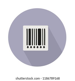 barcode icon. Barcode vector illustration