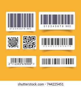 Barcode label set sticker