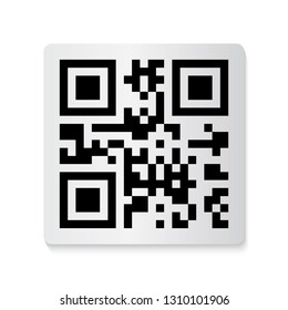Barcode And Qr Code Sticker Collection. Vector Illustration