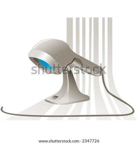 Barcode Scanner Stock Vector (Royalty Free) 2347726 - Shutterstock