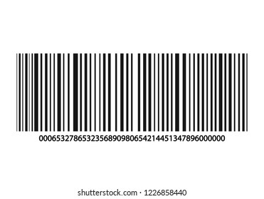 Barcode or Strip Code Data, Information, Price and Identification Product. Vector illustration