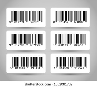 Barcode vector graphic illustration