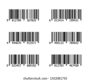 Barcode vector graphic illustration