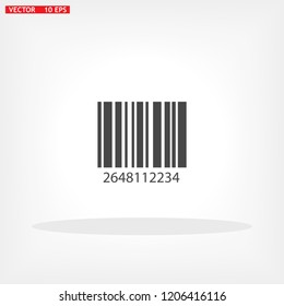 Barcode Vector icon