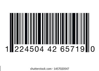 Barcode vector icon. Bar code for web. Eps 10 vector illustration.