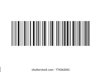 Barcode vector icon. Bar code for web